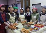 韓国家庭料理教室